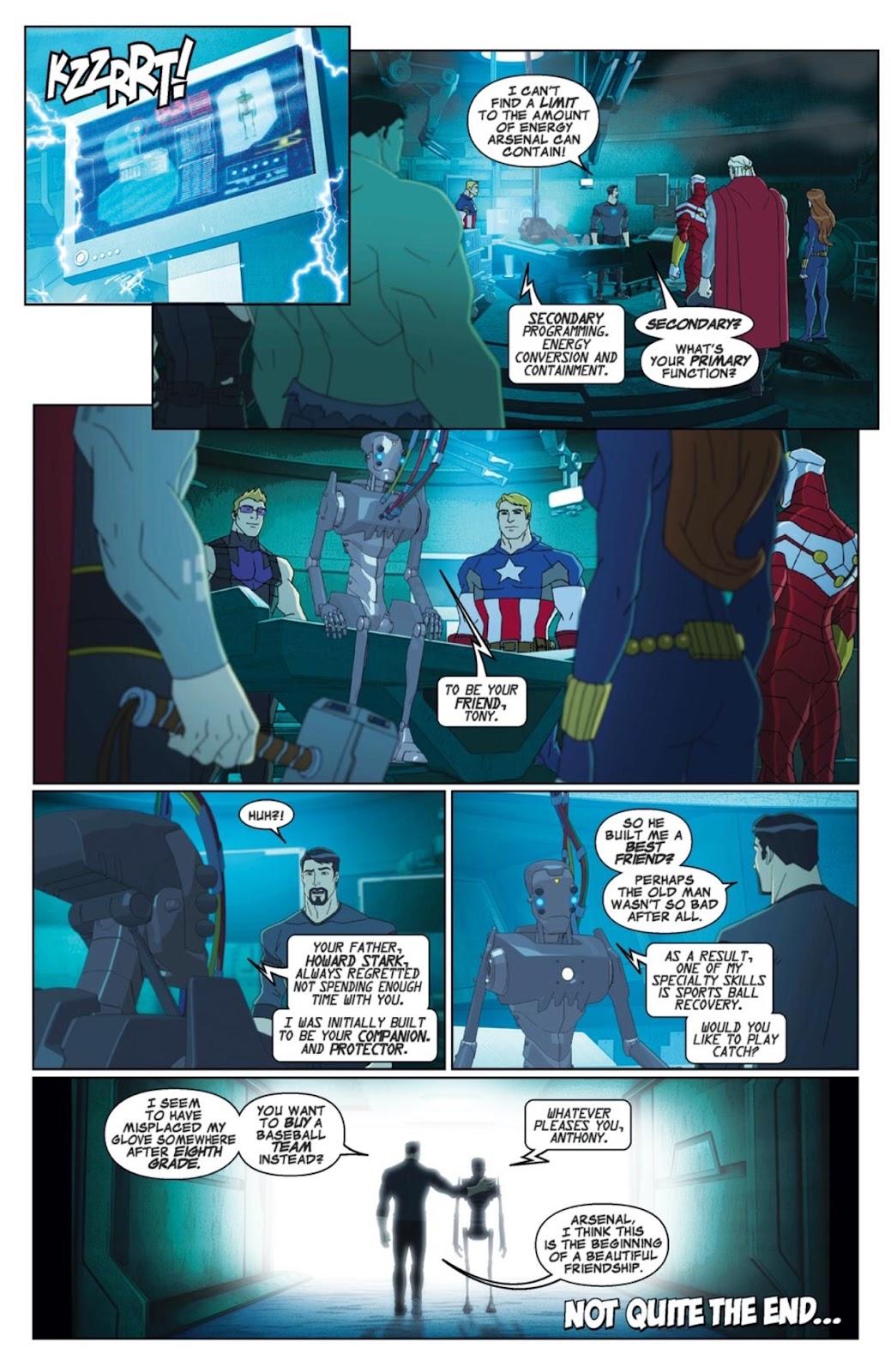 Read online Marvel Universe Avengers Assemble Season 2 comic -  Issue #1 - 21