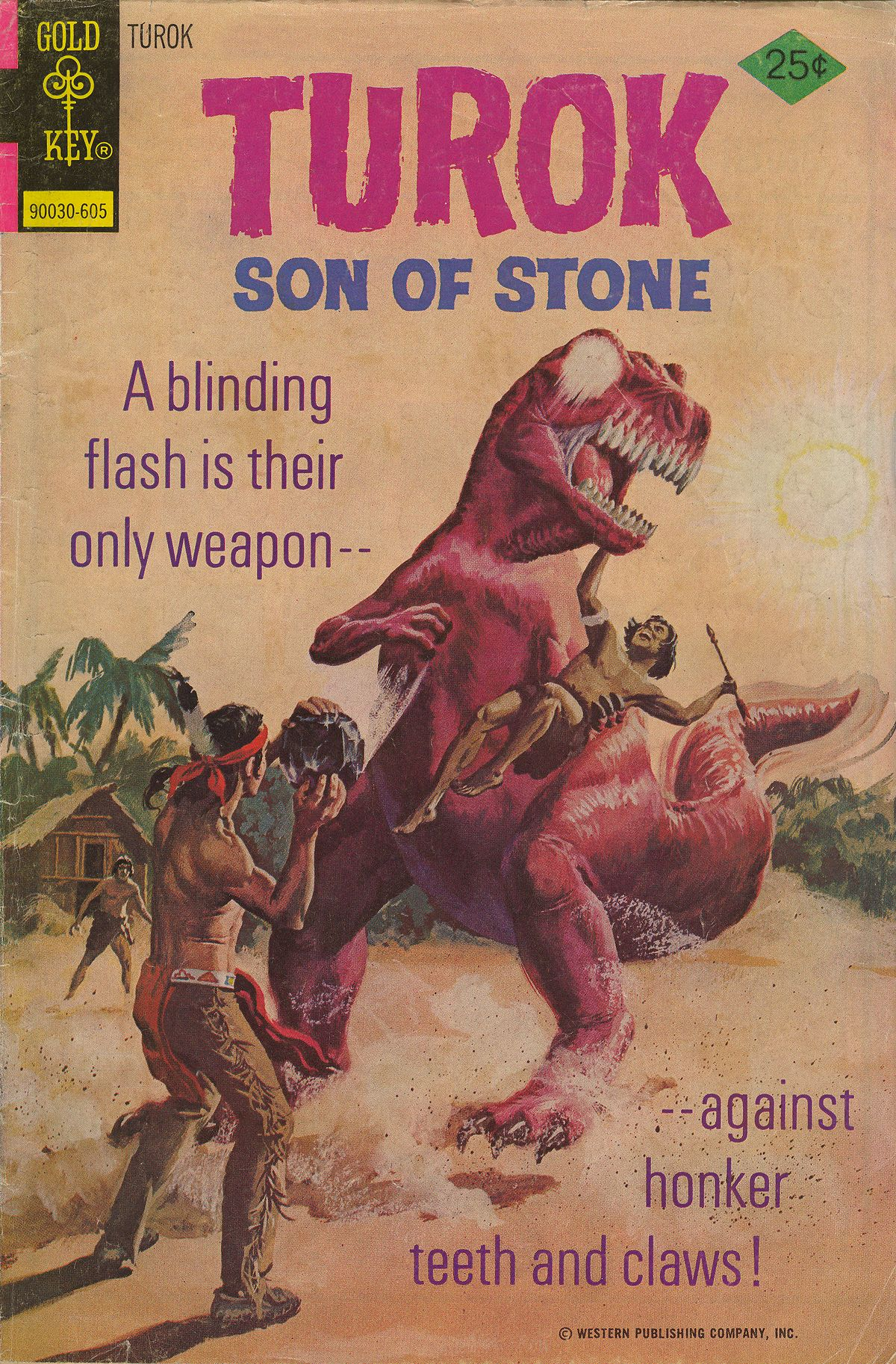 Read online Turok, Son of Stone comic -  Issue #103 - 1