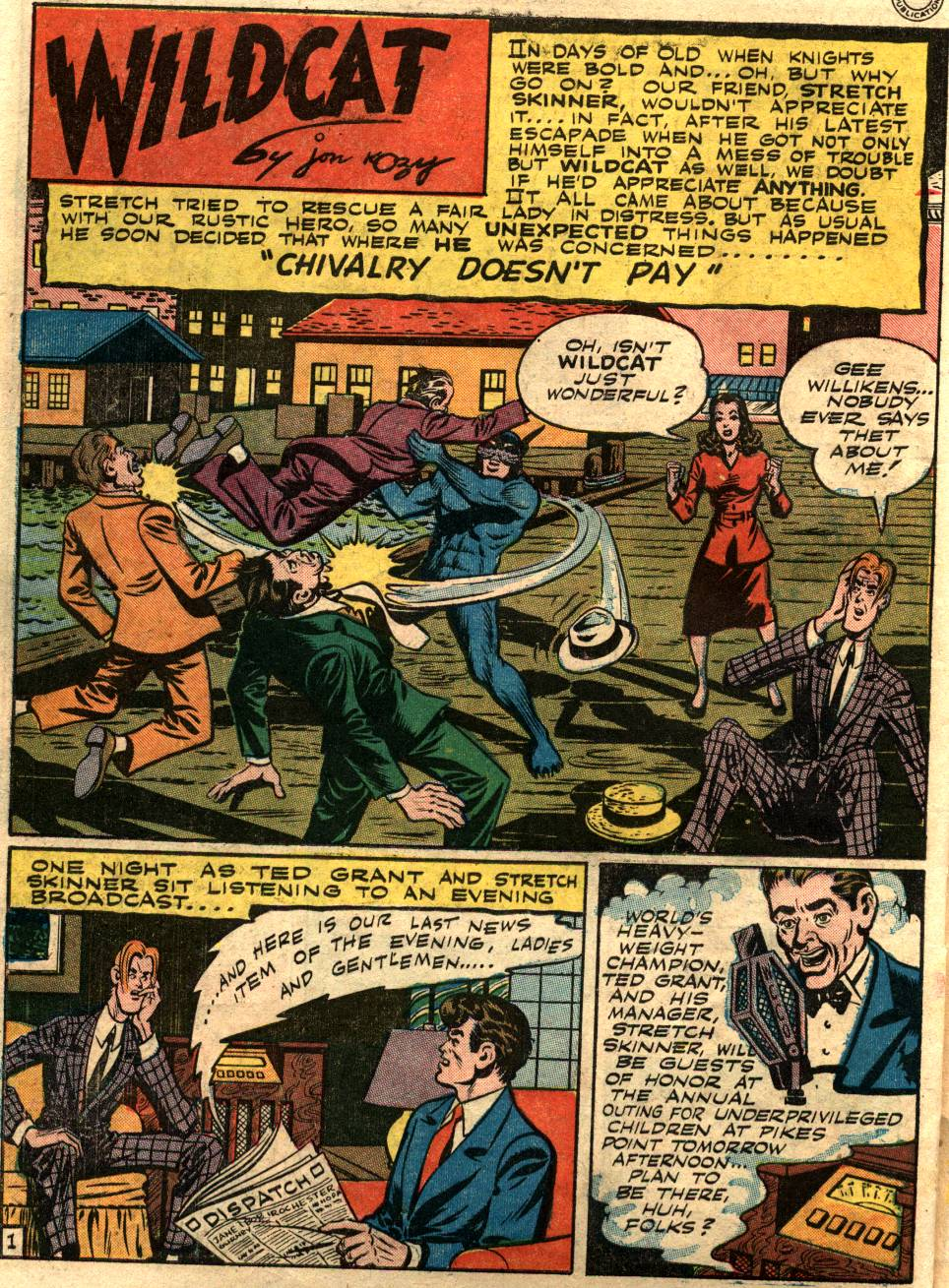 Read online Sensation (Mystery) Comics comic -  Issue #58 - 42