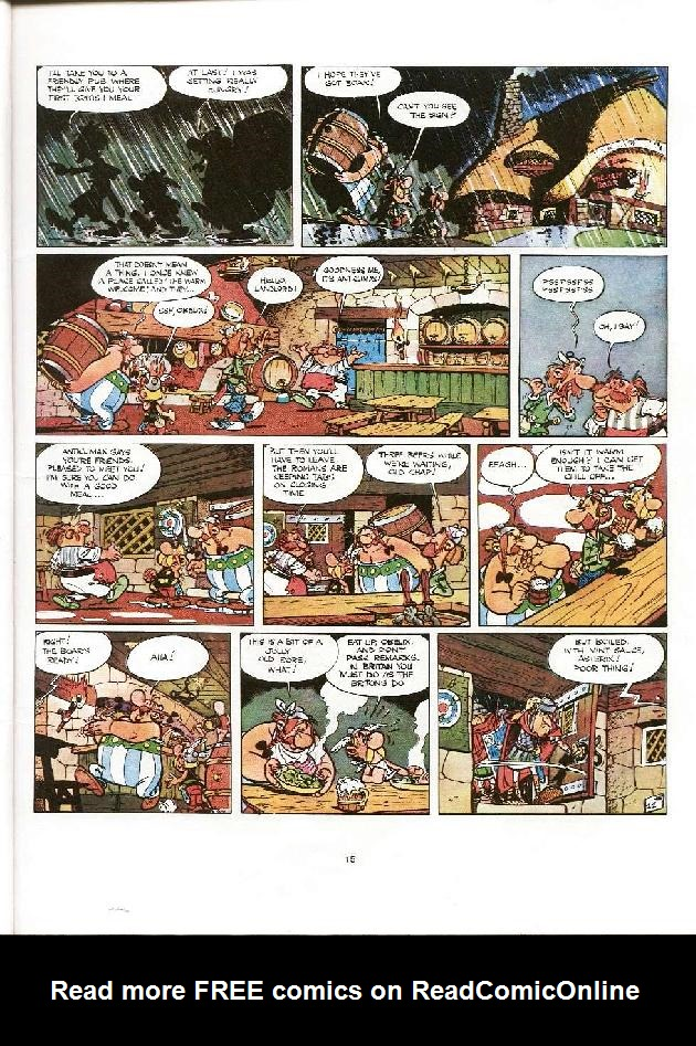 Read online Asterix comic -  Issue #8 - 12