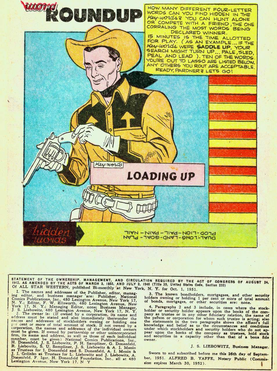 Read online All-Star Western (1951) comic -  Issue #63 - 24