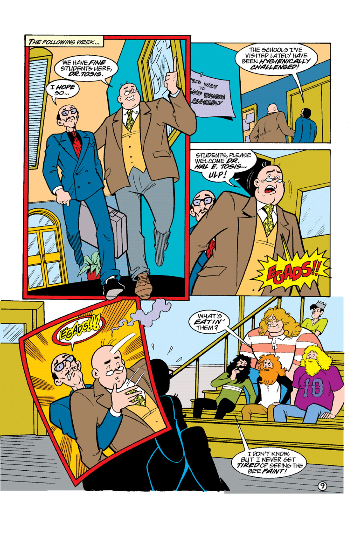 Read online Archie's Weird Mysteries comic -  Issue #10 - 11