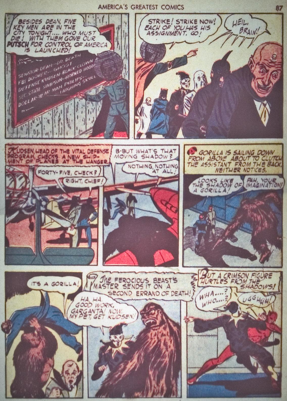 Read online America's Greatest Comics comic -  Issue #1 - 90
