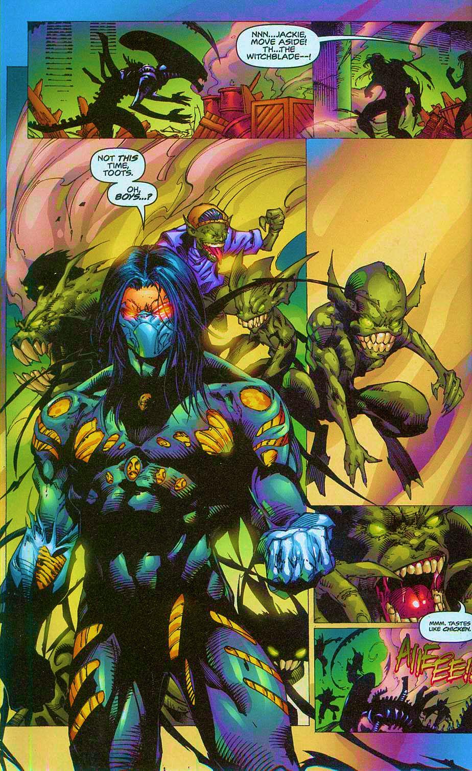 Read online Overkill: Witchblade/Aliens/Darkness/Predator comic -  Issue #2 - 17
