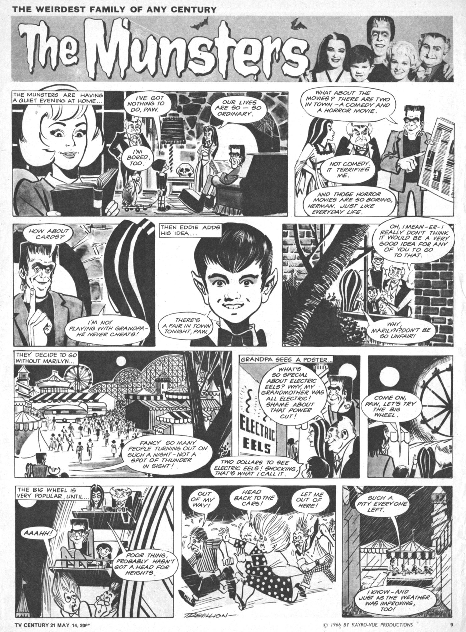 Read online TV Century 21 (TV 21) comic -  Issue #69 - 9