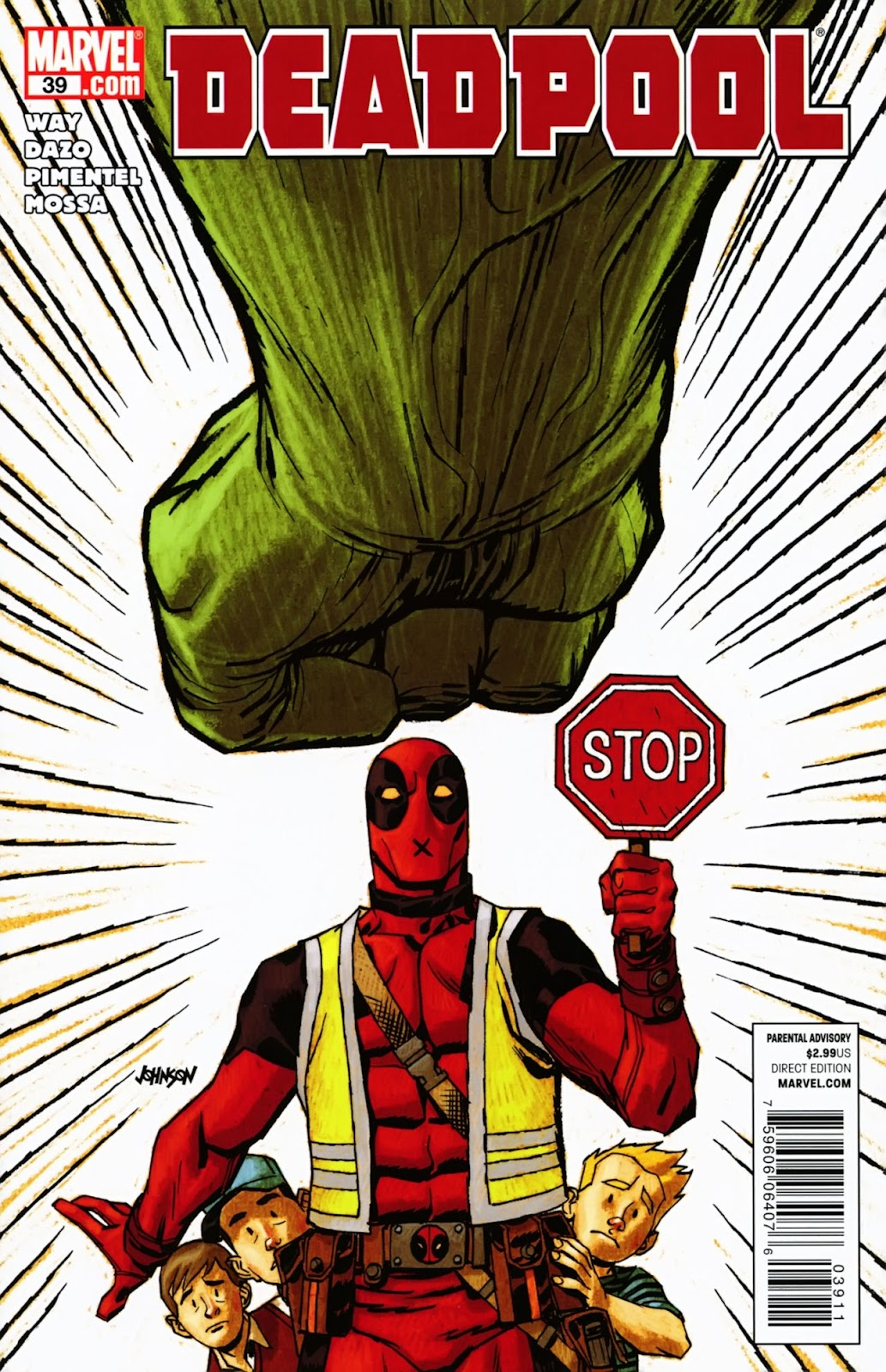 Read online Deadpool (2008) comic -  Issue #39 - 1