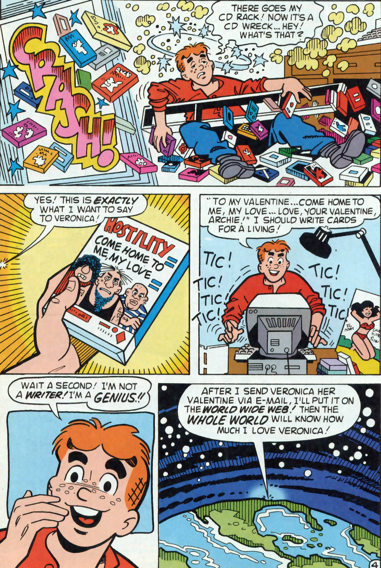 Read online Archie (1960) comic -  Issue #458 - 24