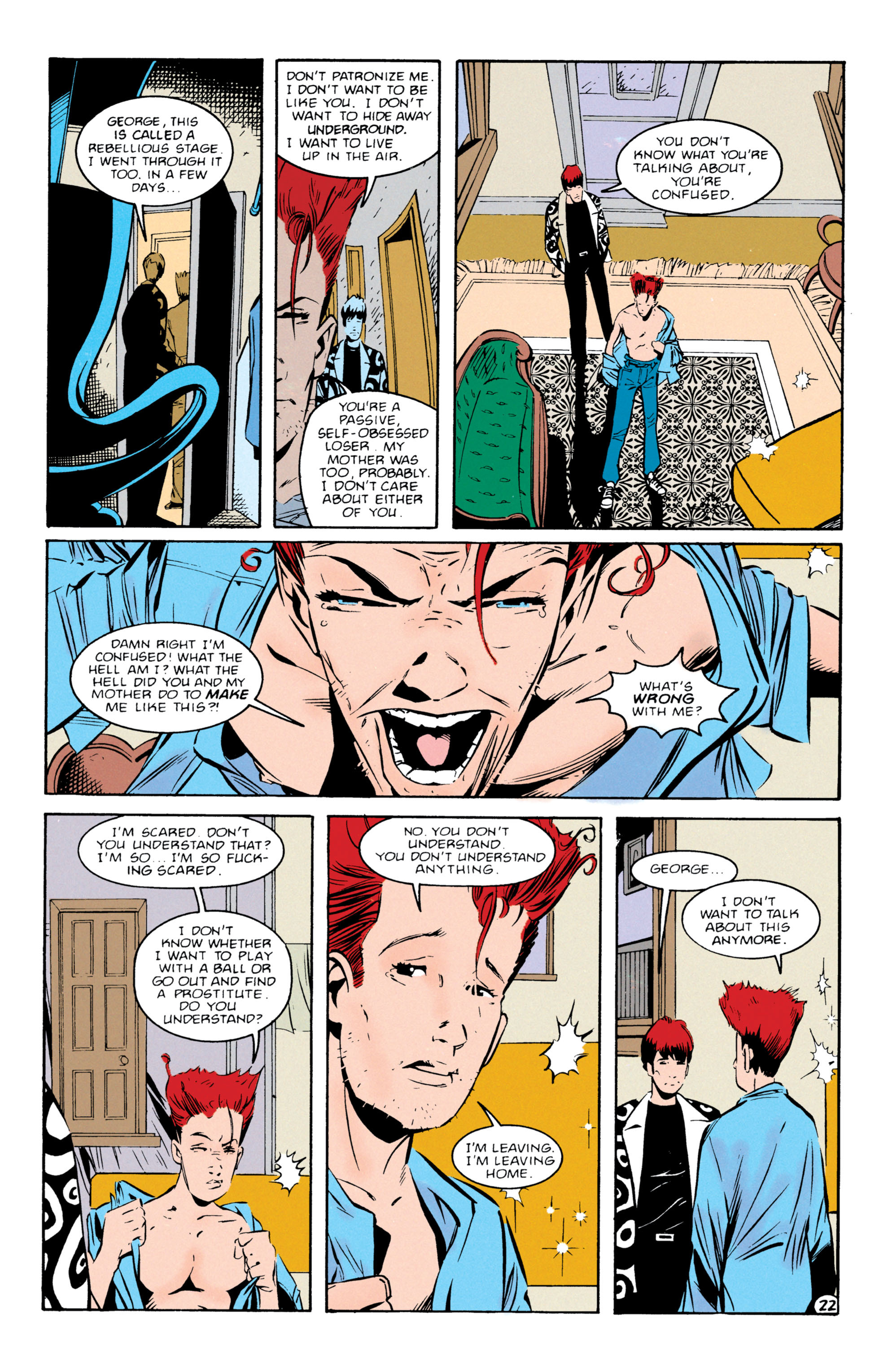 Read online Shade, the Changing Man comic -  Issue #55 - 23