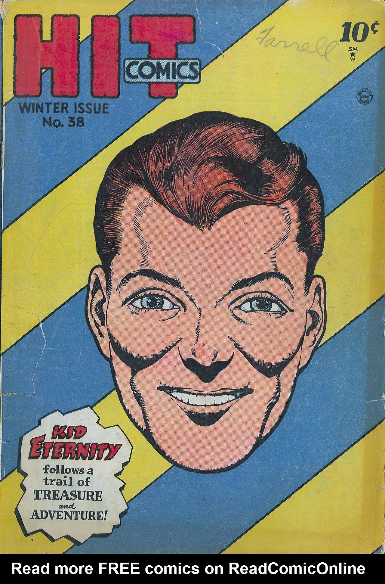 Read online Hit Comics comic -  Issue #38 - 1