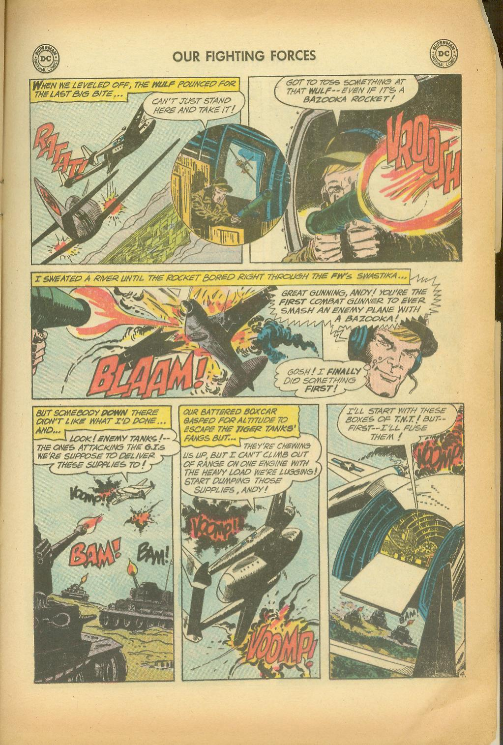 Our Fighting Forces (1954) issue 65 - Page 21