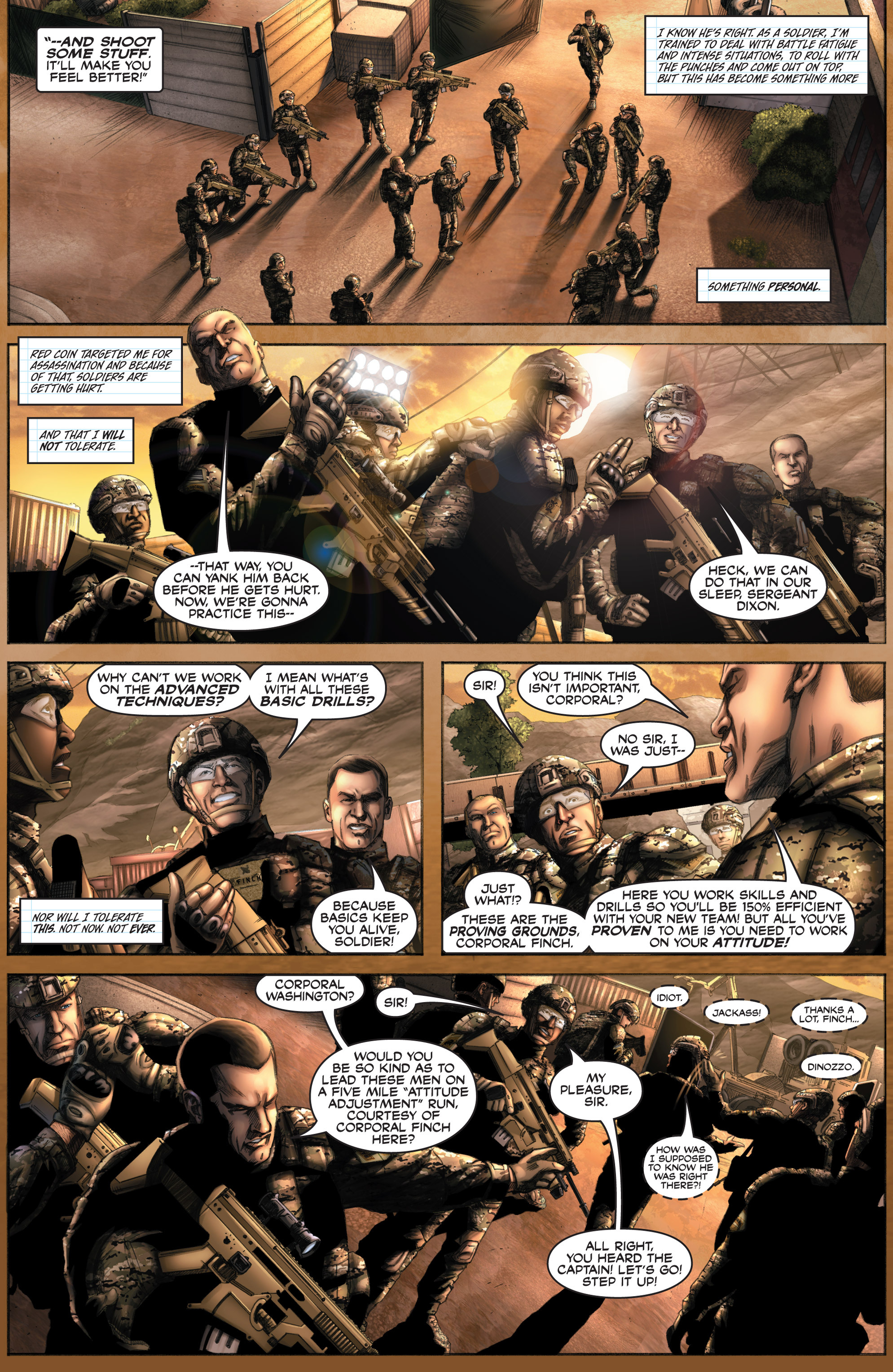 Read online America's Army comic -  Issue #8 - 7