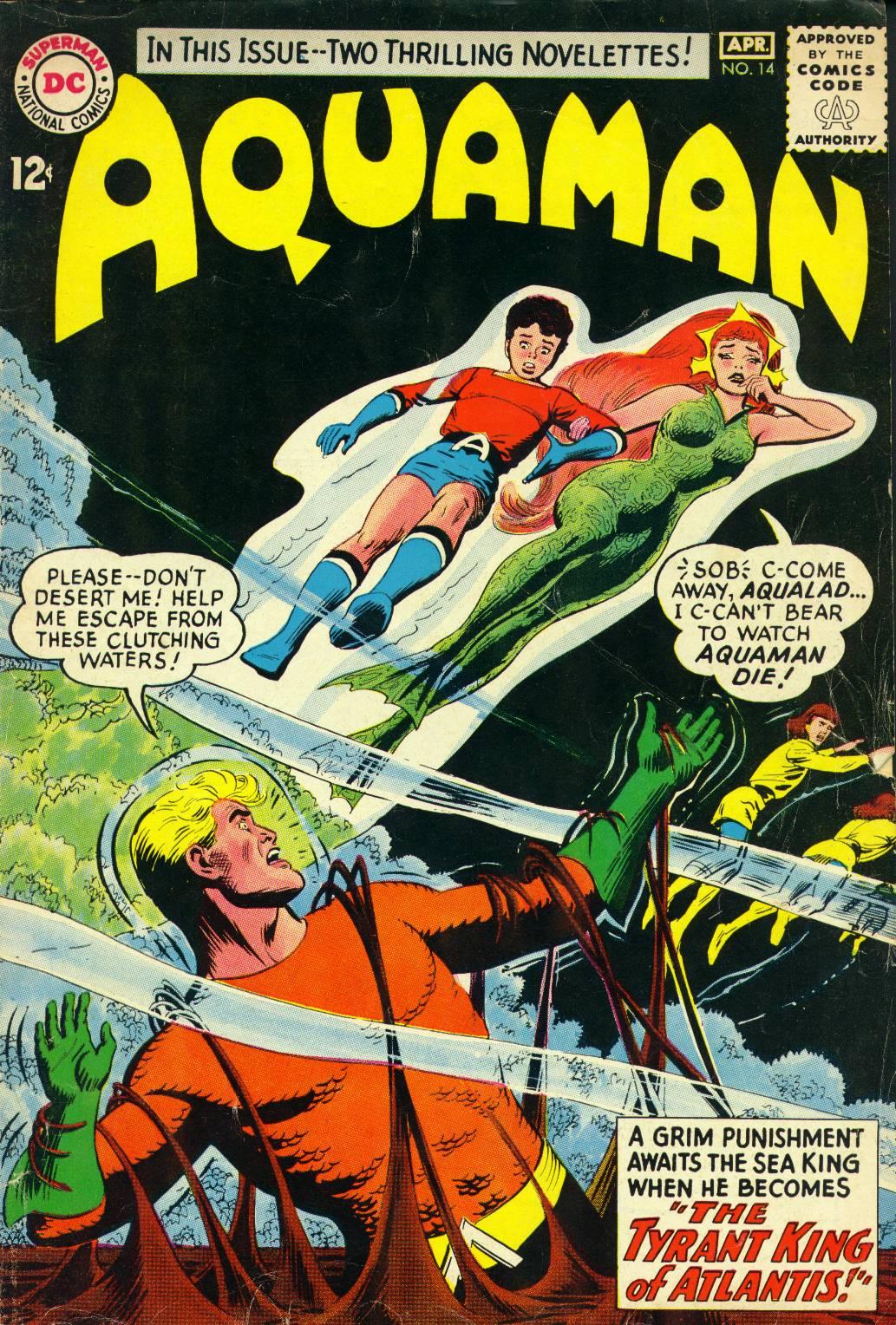 Aquaman (1962) issue 14 - Page 1