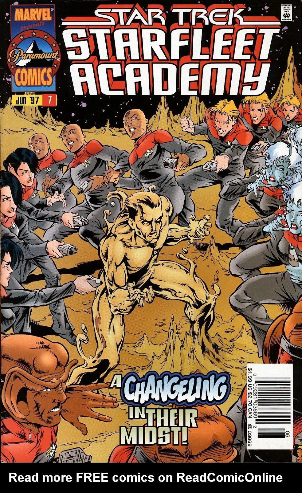 Star Trek: Starfleet Academy (1996) issue 7 - Page 1