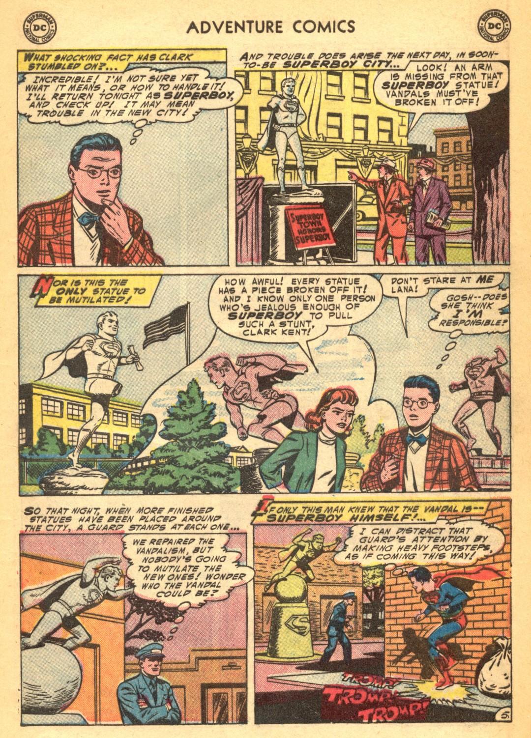 Read online Adventure Comics (1938) comic -  Issue #202 - 7