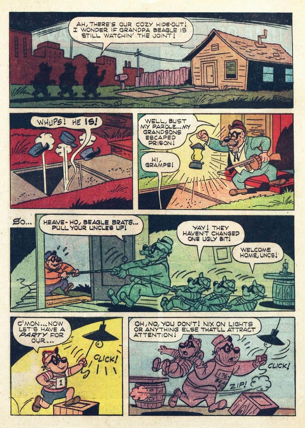 Walt Disney THE BEAGLE BOYS issue 6 - Page 4