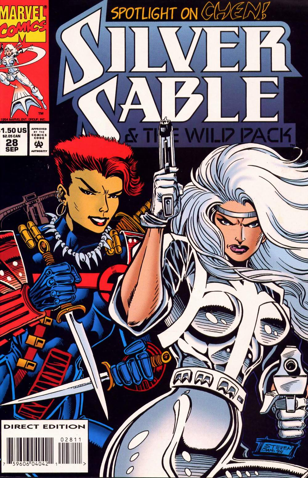 Read online Silver Sable and the Wild Pack comic -  Issue #28 - 1