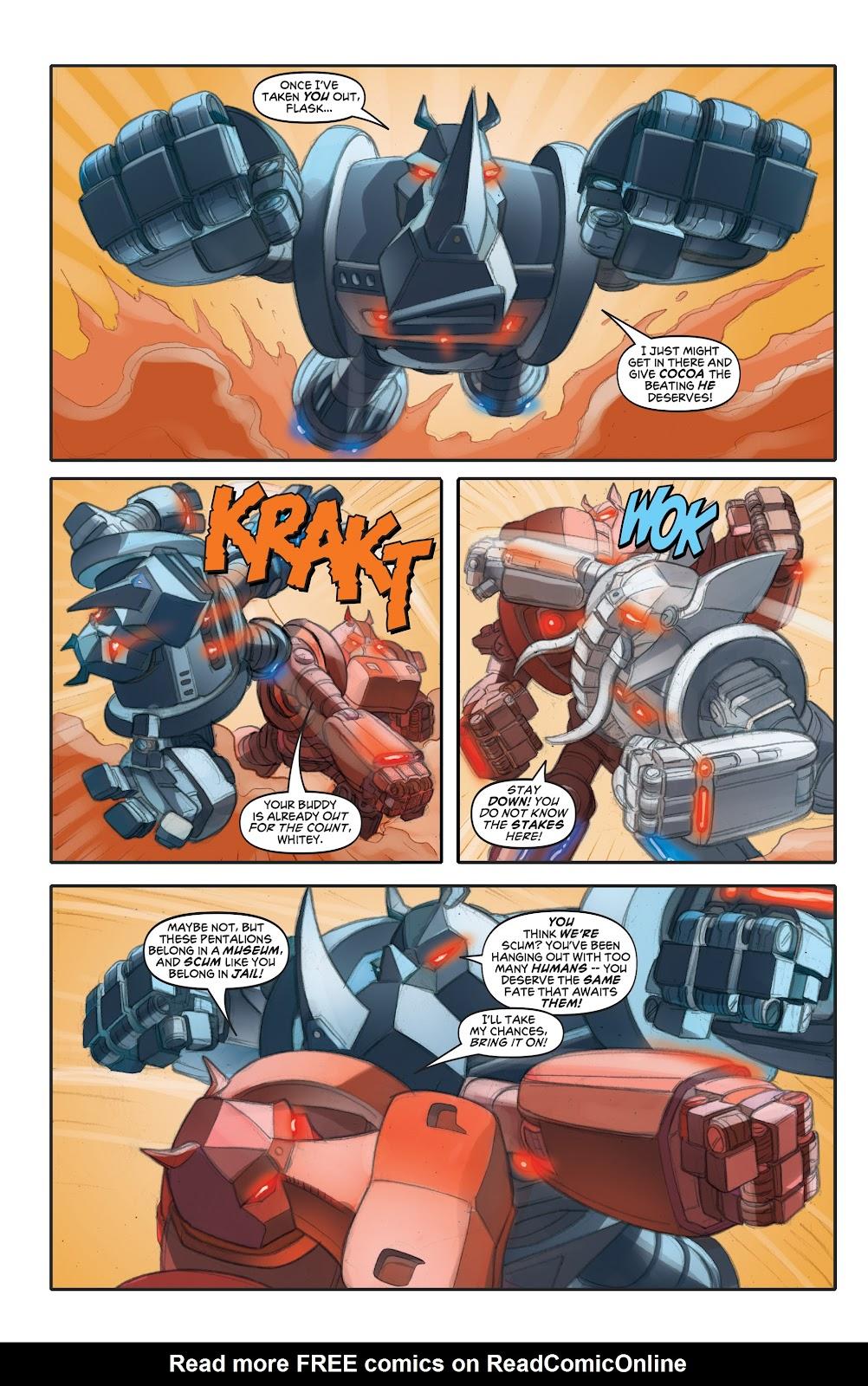 Read online Elephantmen 2261 Season Two: The Pentalion Job comic -  Issue # TPB - 65