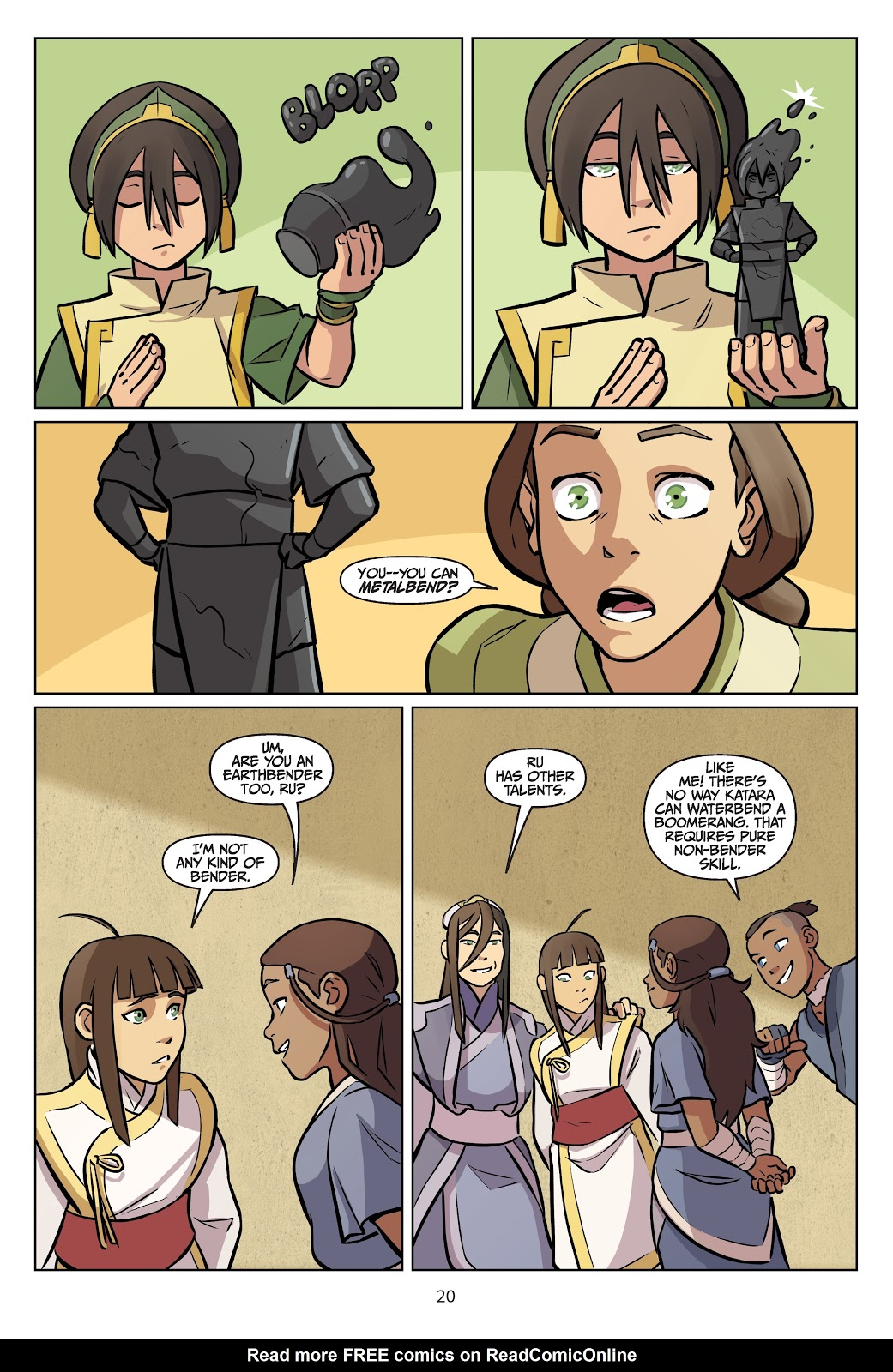 Read online Nickelodeon Avatar: The Last Airbender - Imbalance comic -  Issue # TPB 2 - 21