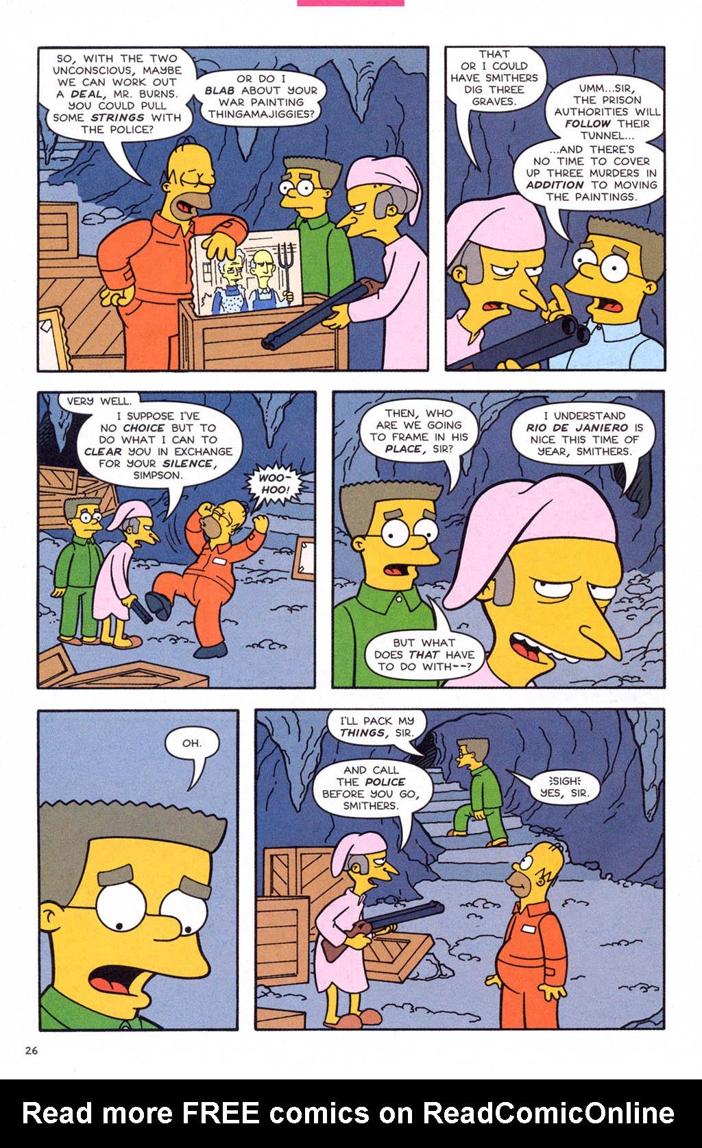 Read online Simpsons Comics comic -  Issue #108 - 27