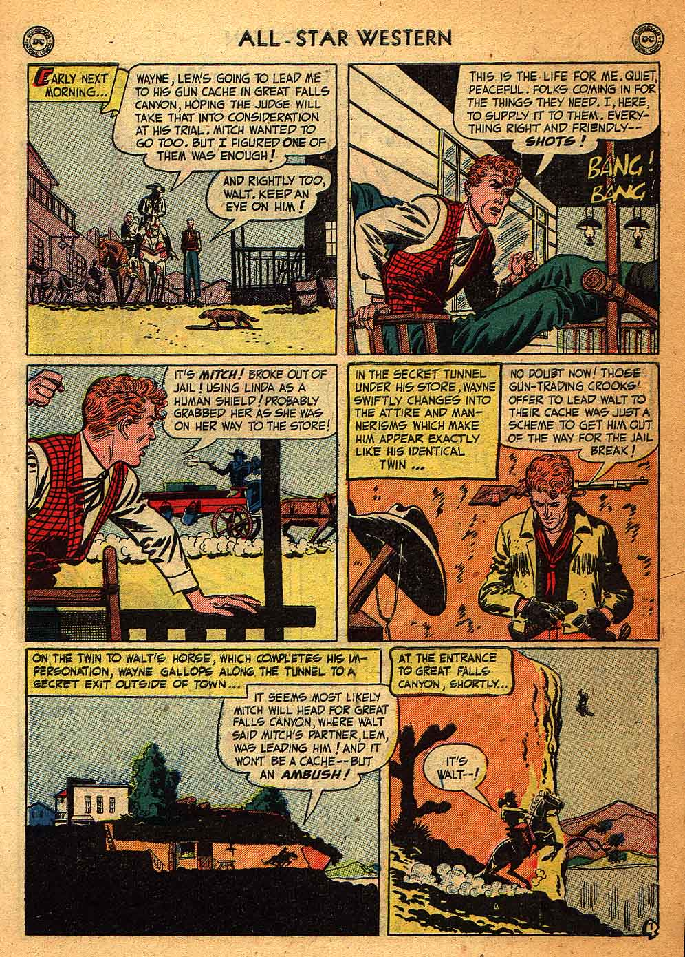 Read online All-Star Western (1951) comic -  Issue #58 - 9