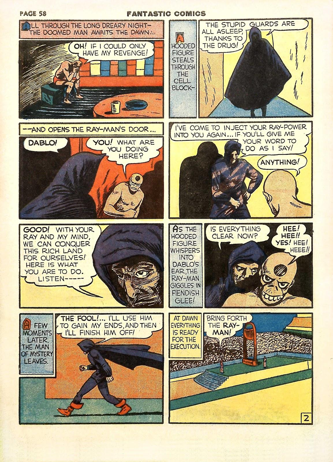 Read online Fantastic Comics comic -  Issue #11 - 61