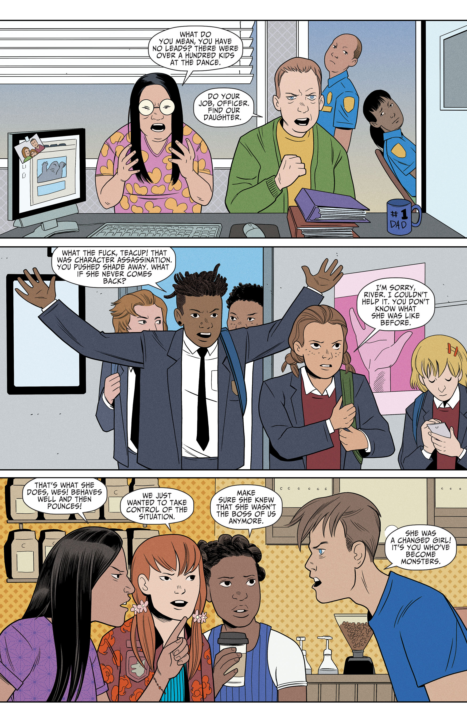 Read online Shade, the Changing Girl comic -  Issue #8 - 17