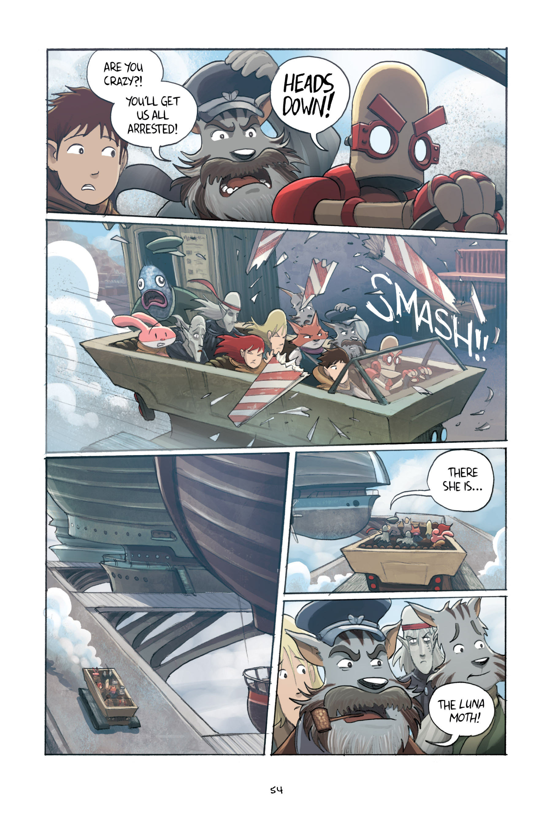 Read online Amulet comic -  Issue #3 - 53