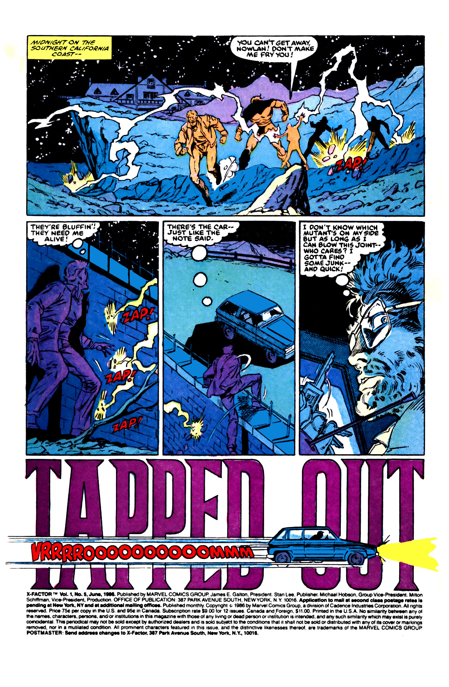 Read online X-Factor (1986) comic -  Issue #5 - 2