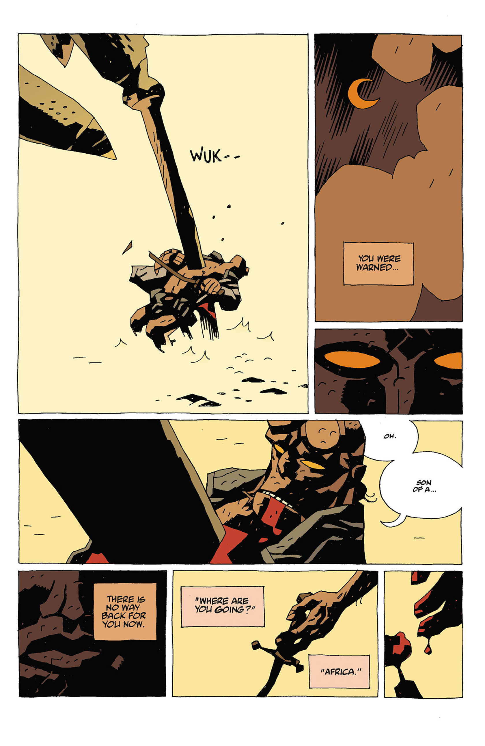 Read online Hellboy: Strange Places comic -  Issue # TPB - 89