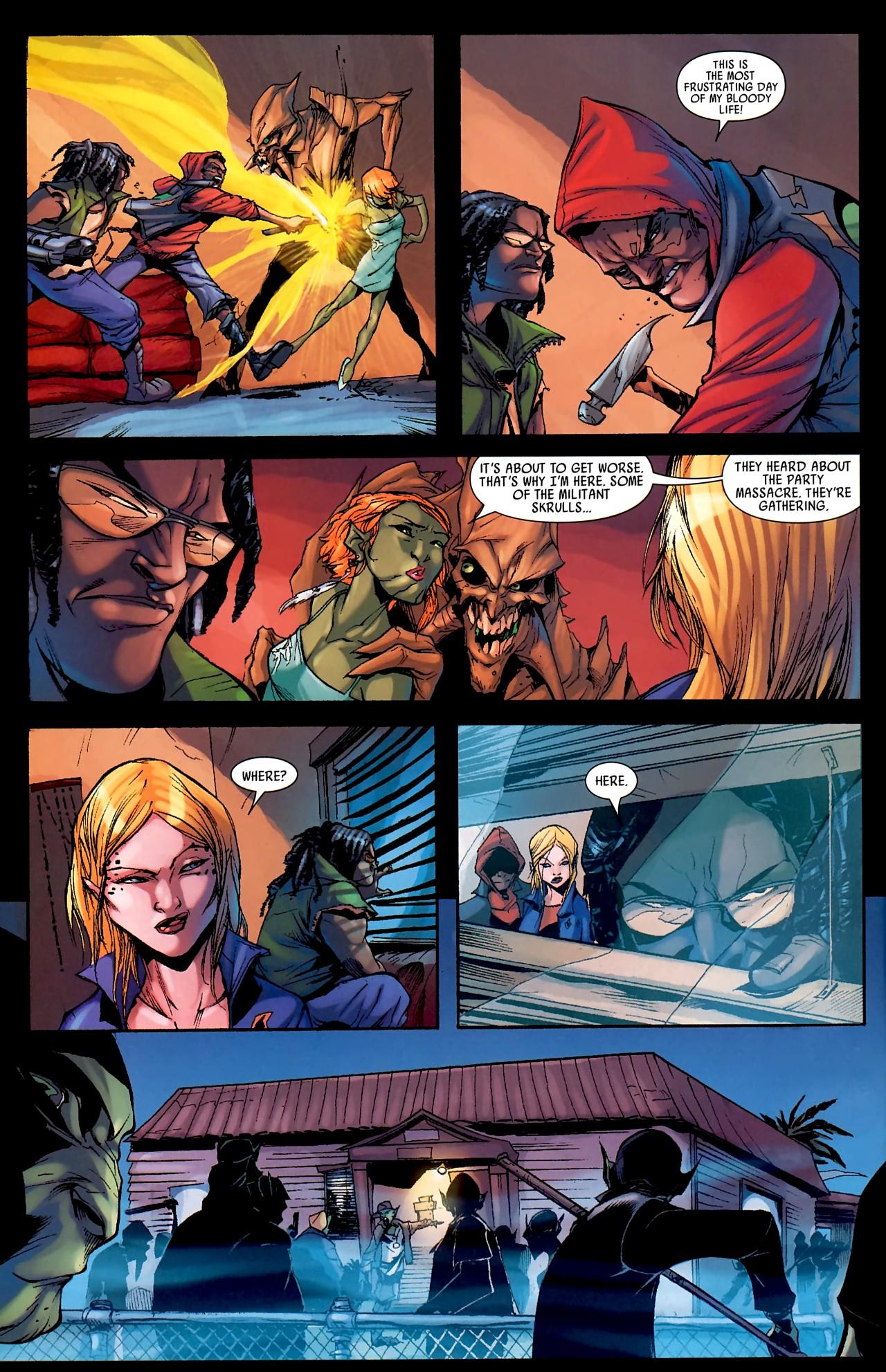 Read online Skrull Kill Krew (2009) comic -  Issue #4 - 20