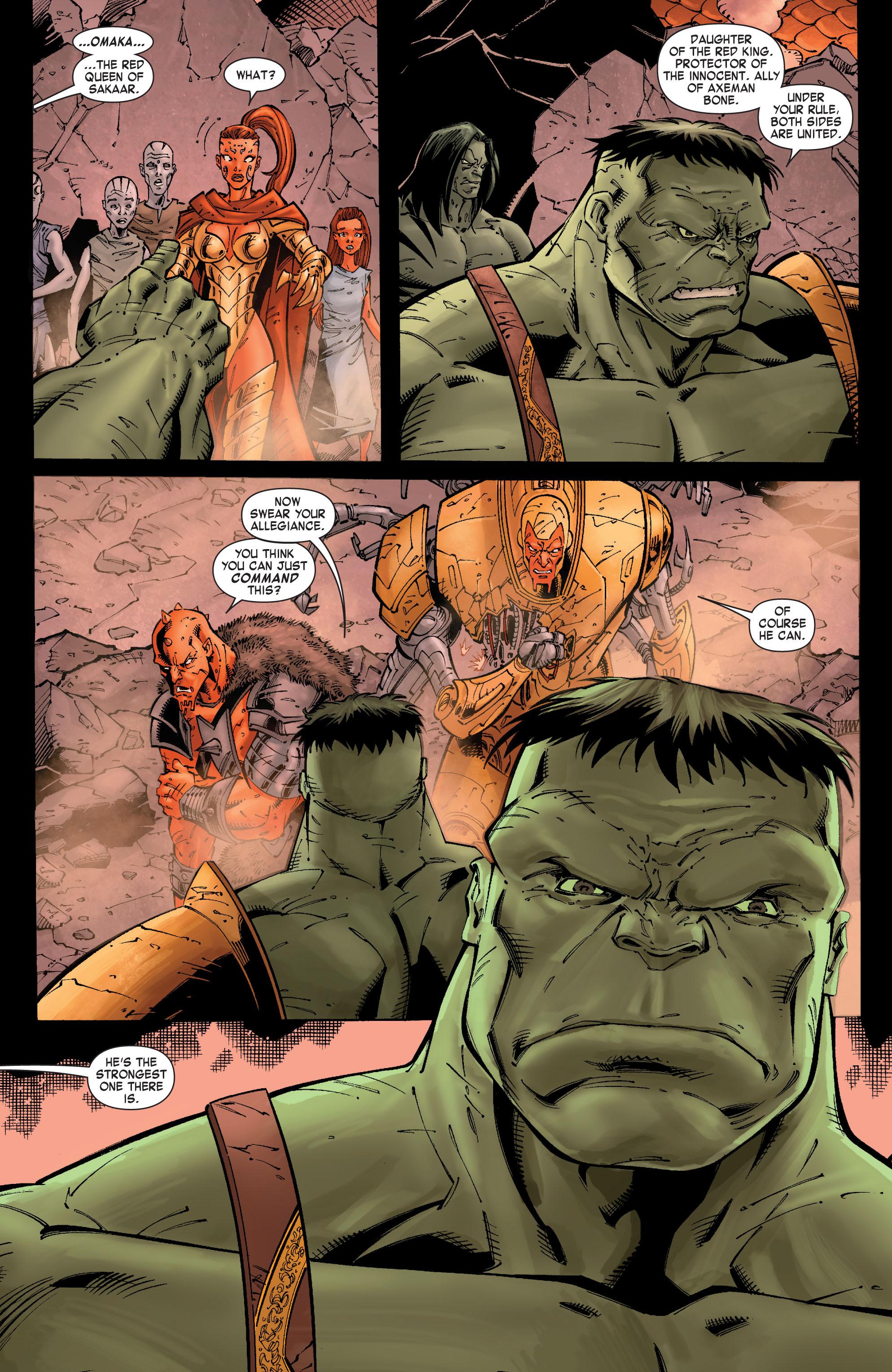 Read online Skaar: Son of Hulk comic -  Issue #9 - 13