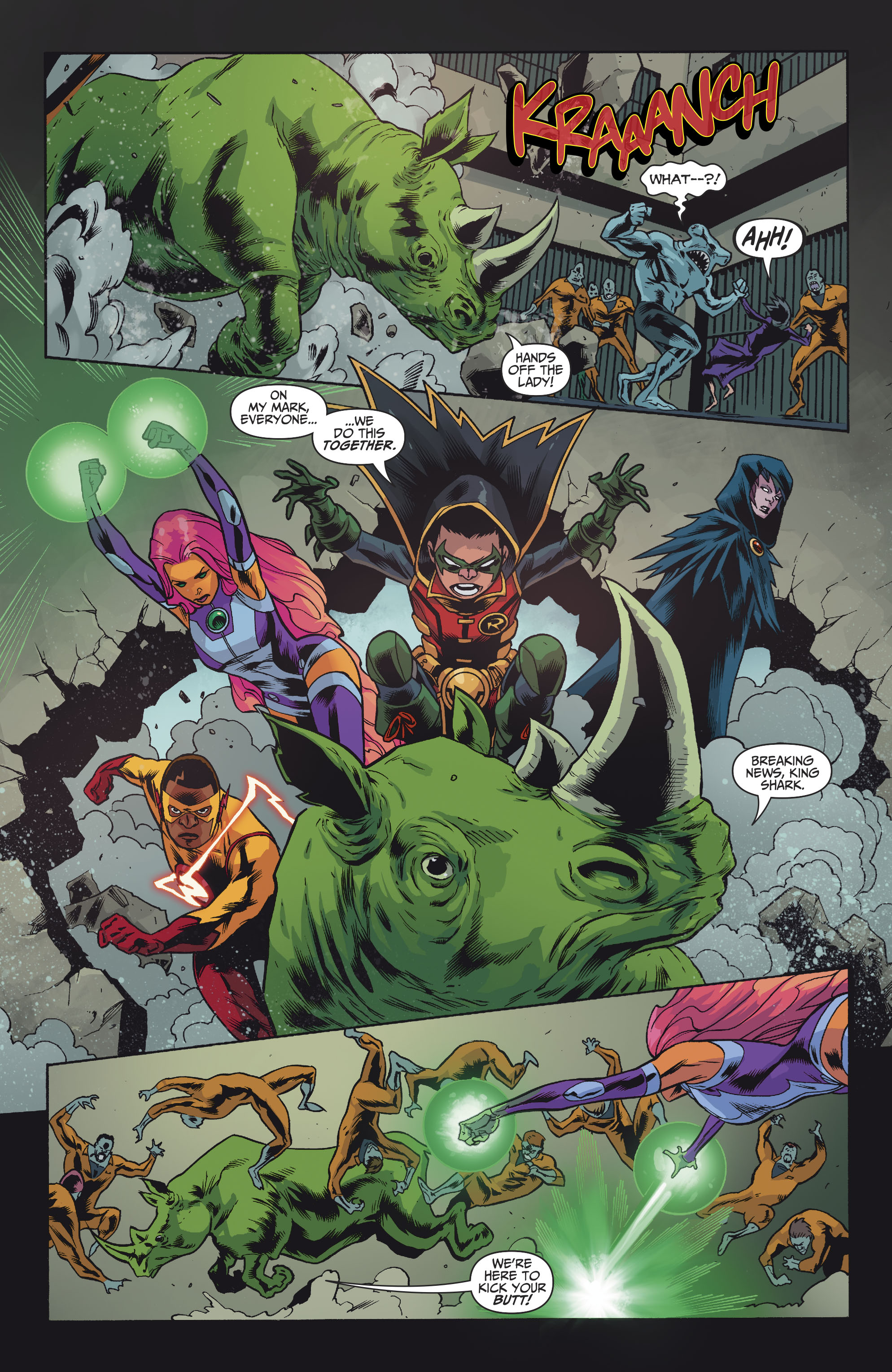Read online Teen Titans (2016) comic -  Issue #7 - 12