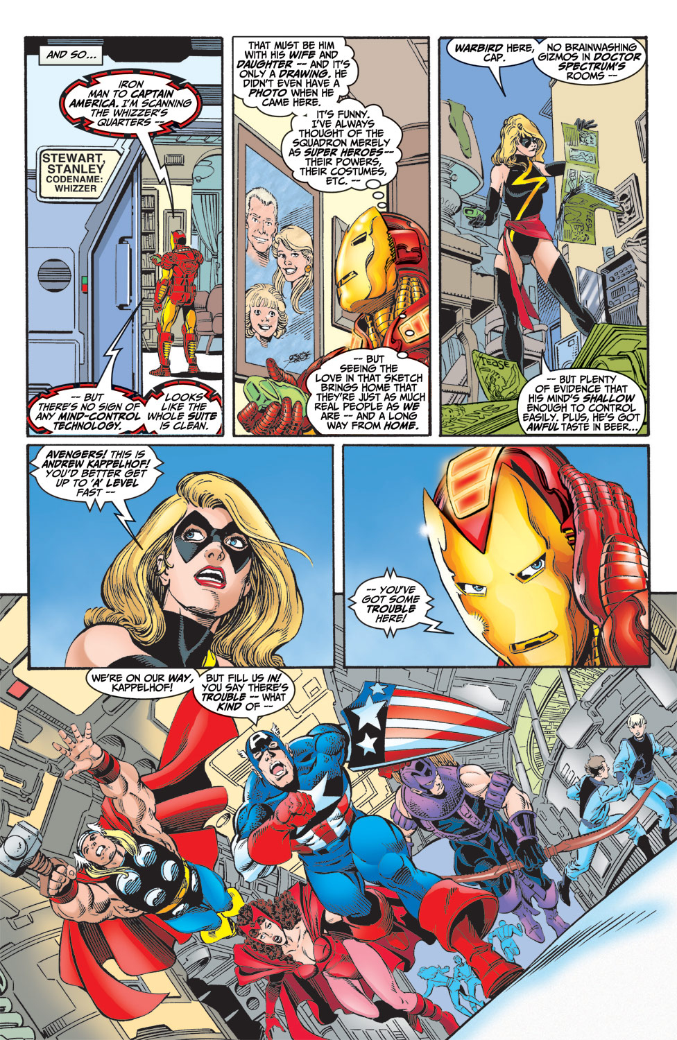 Read online Avengers (1998) comic -  Issue #6 - 11