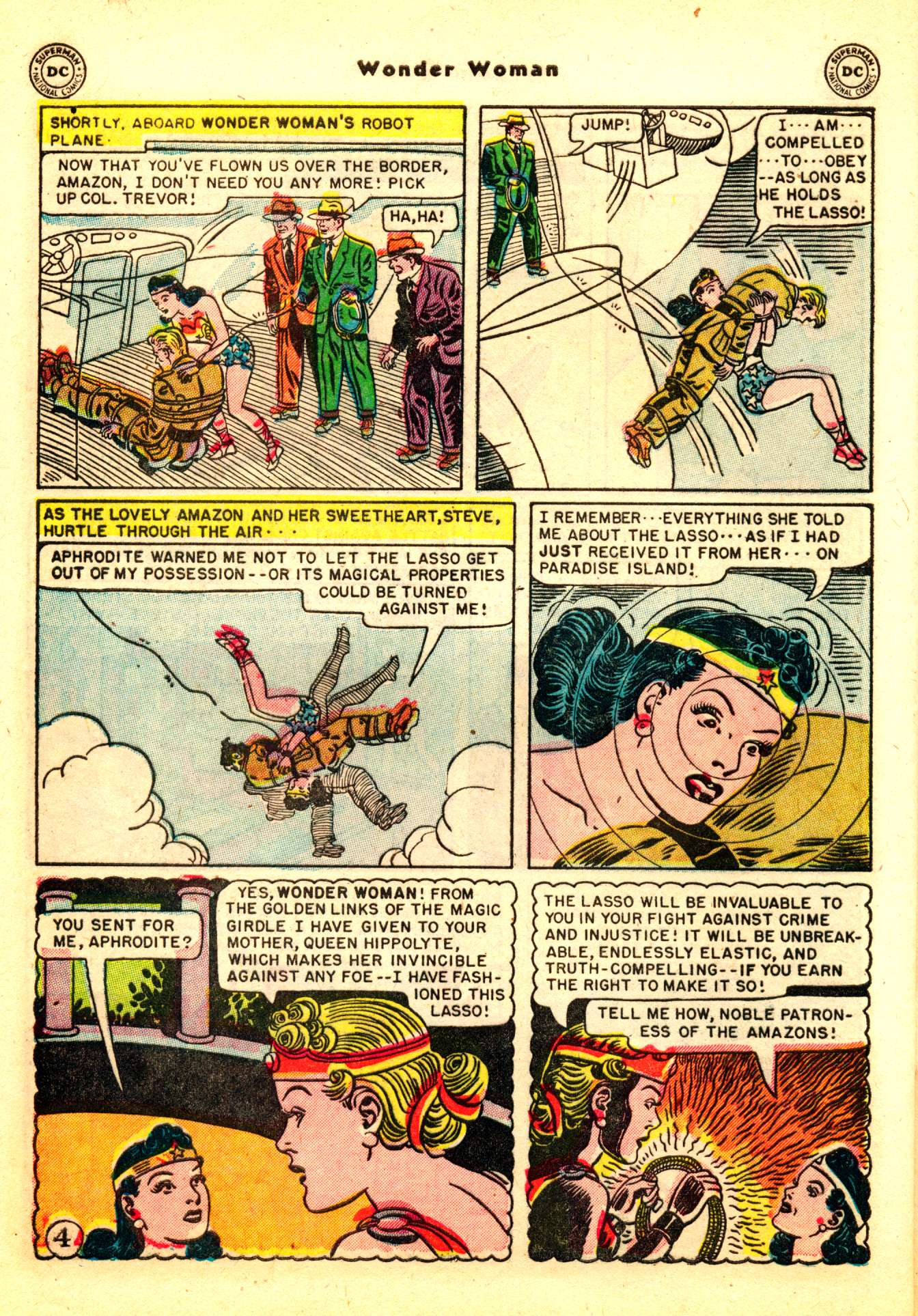 Read online Wonder Woman (1942) comic -  Issue #50 - 34