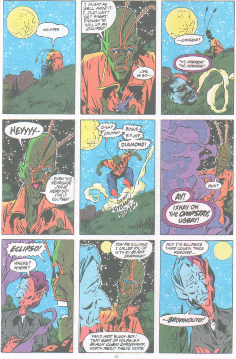 Read online Ambush Bug Nothing Special comic -  Issue # Full - 34
