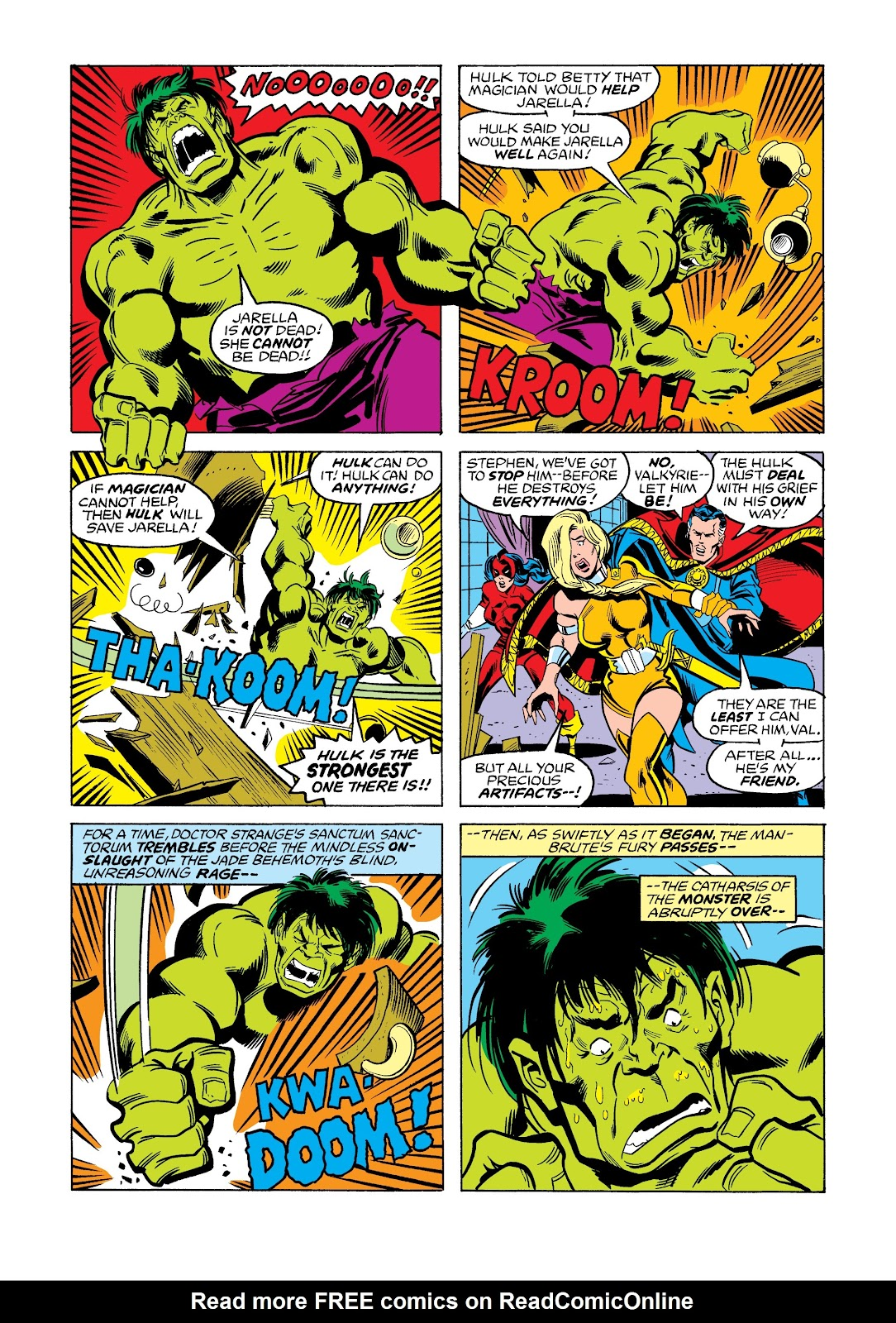 Read online Marvel Masterworks: The Incredible Hulk comic -  Issue # TPB 12 (Part 3) - 44