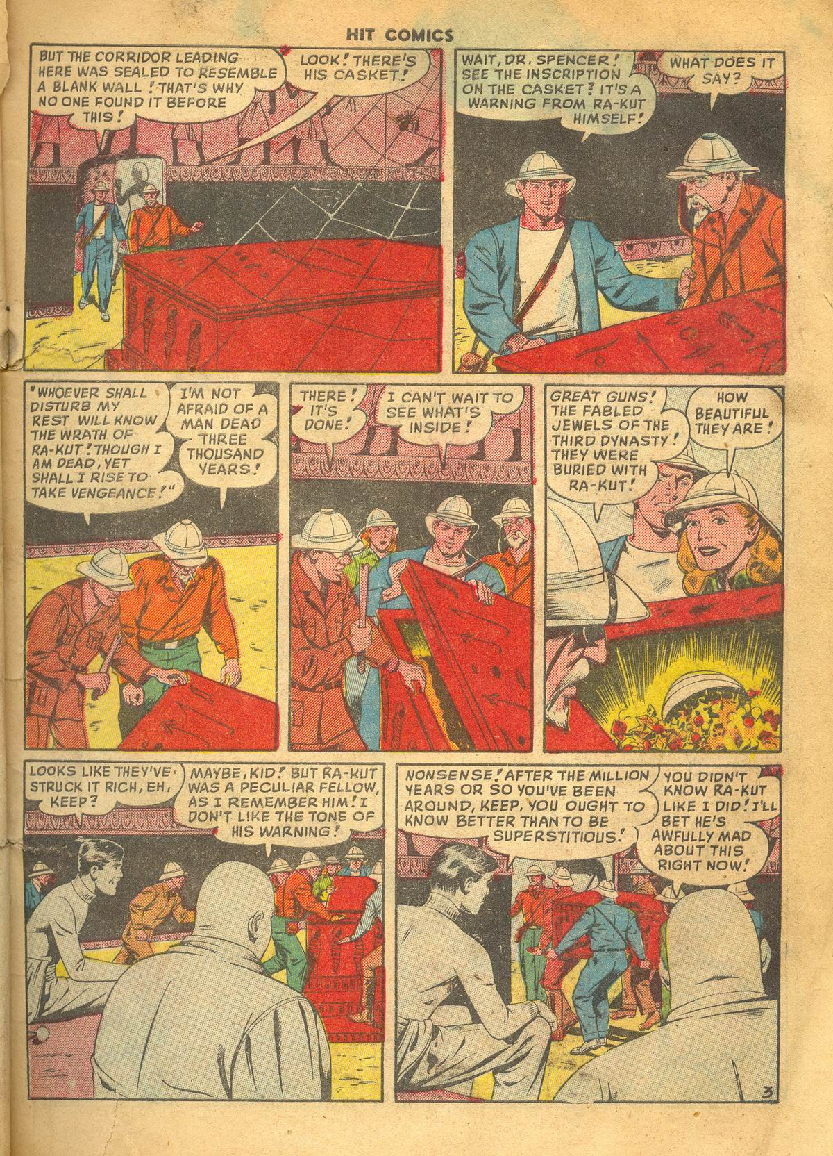 Read online Hit Comics comic -  Issue #60 - 5