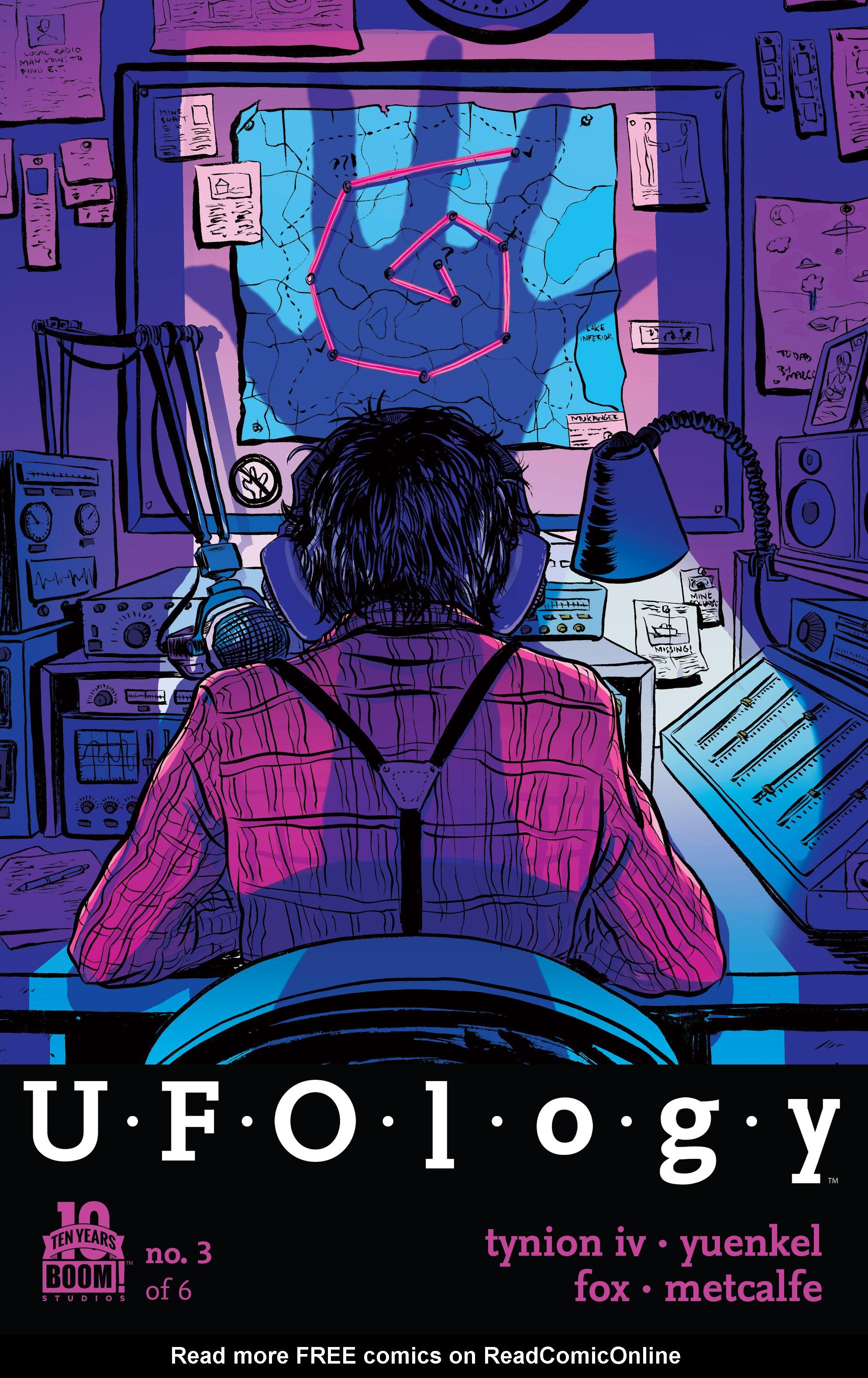 Read online UFOlogy comic -  Issue #3 - 1