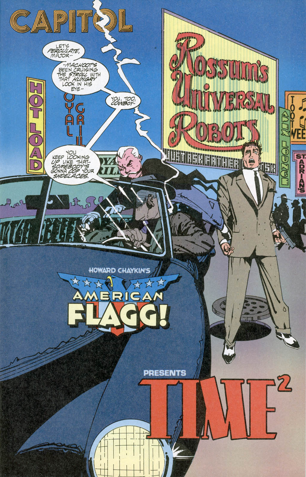 Read online American Flagg! comic -  Issue # _Special 1 - 9