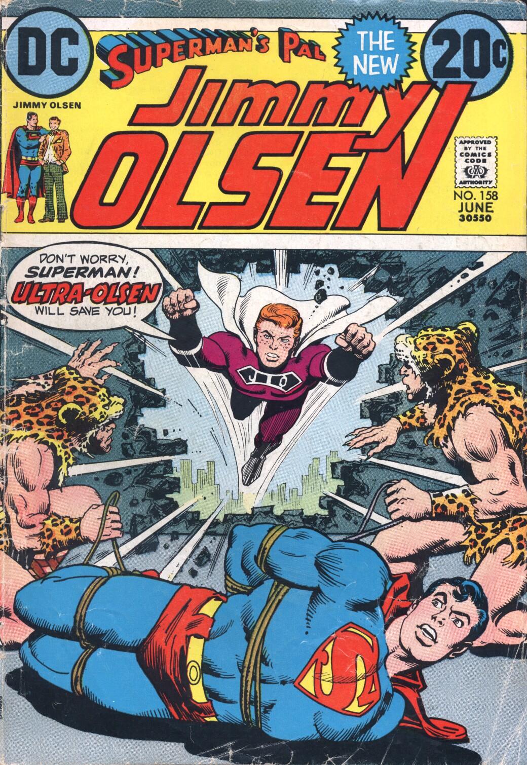Supermans Pal Jimmy Olsen (1954) 158 Page 1