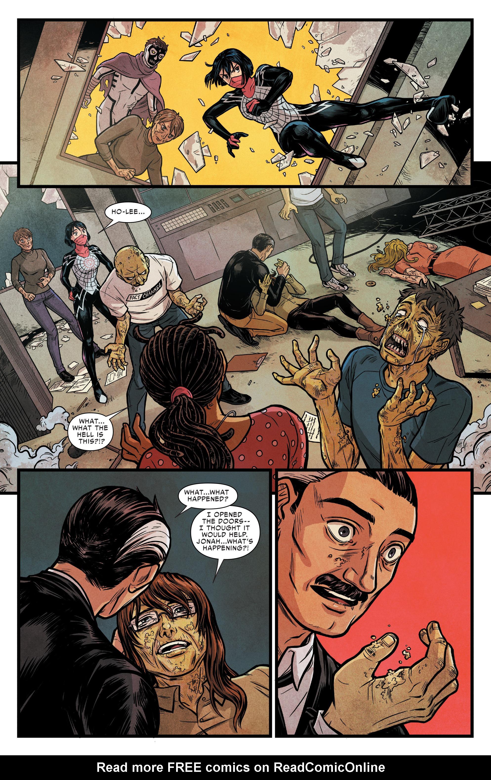 Read online Silk (2016) comic -  Issue #17 - 13