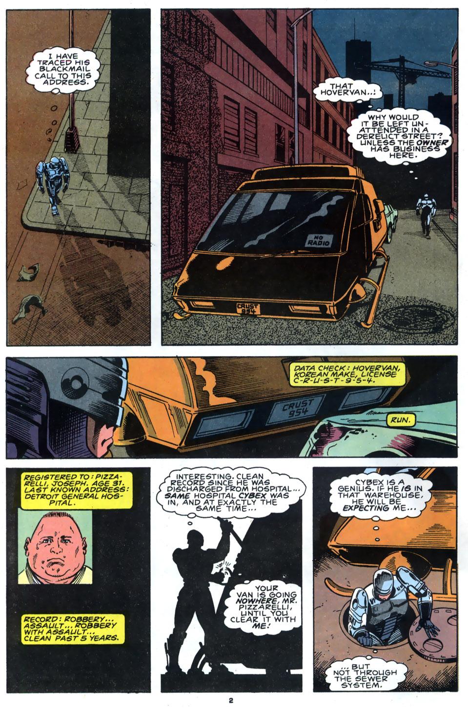 Read online Robocop (1990) comic -  Issue #4 - 3