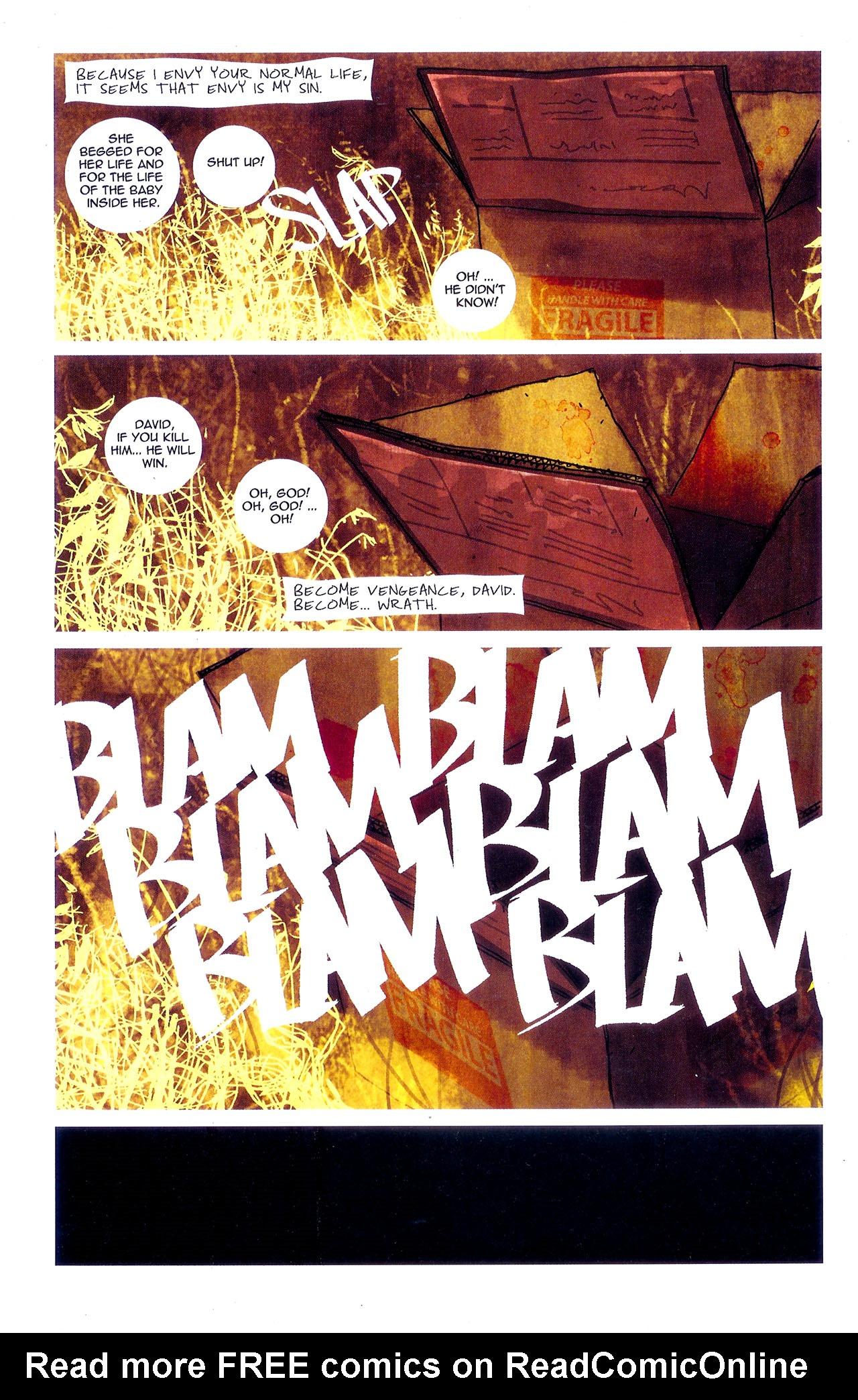 Read online Se7en comic -  Issue #7 - 27