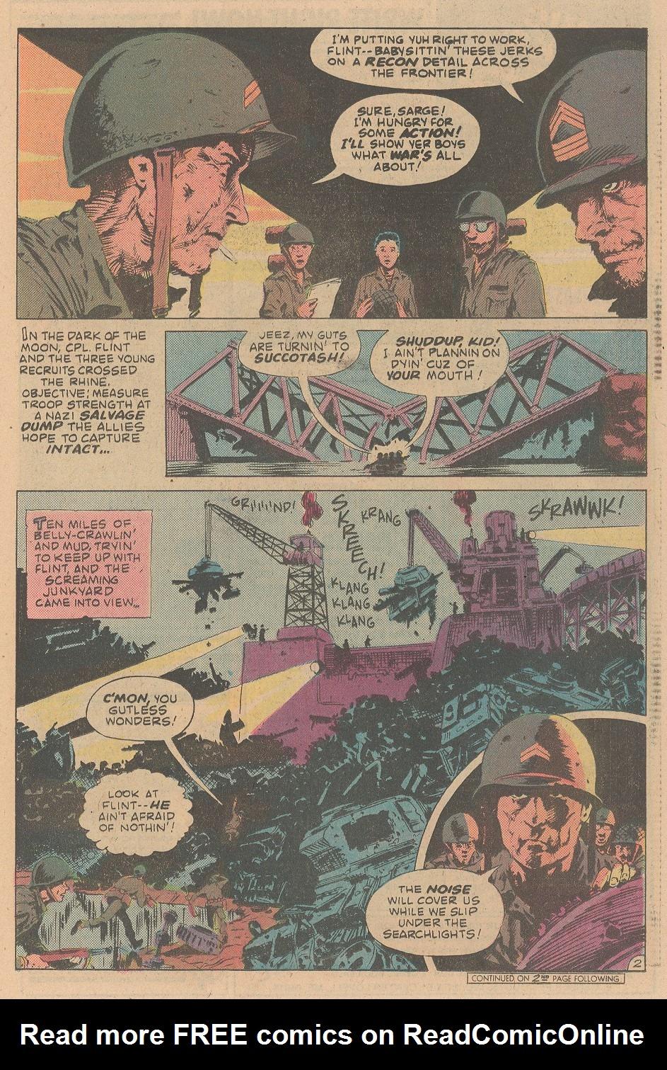 Read online Sgt. Rock comic -  Issue #356 - 18