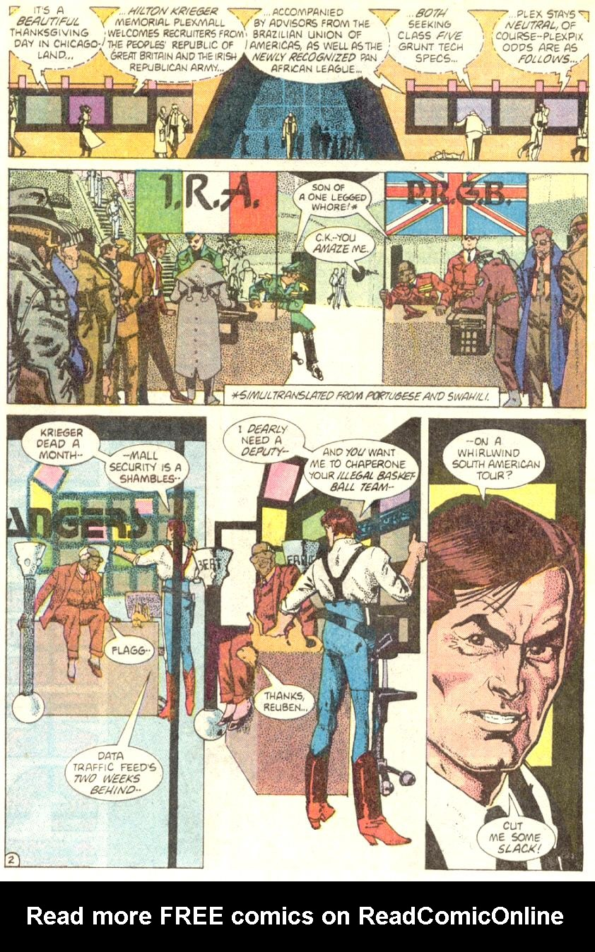 Read online American Flagg! comic -  Issue #4 - 3