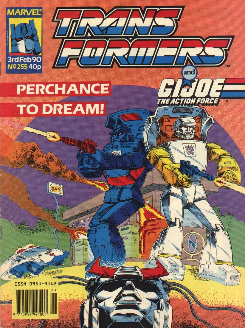 The Transformers (UK) 255 Page 1