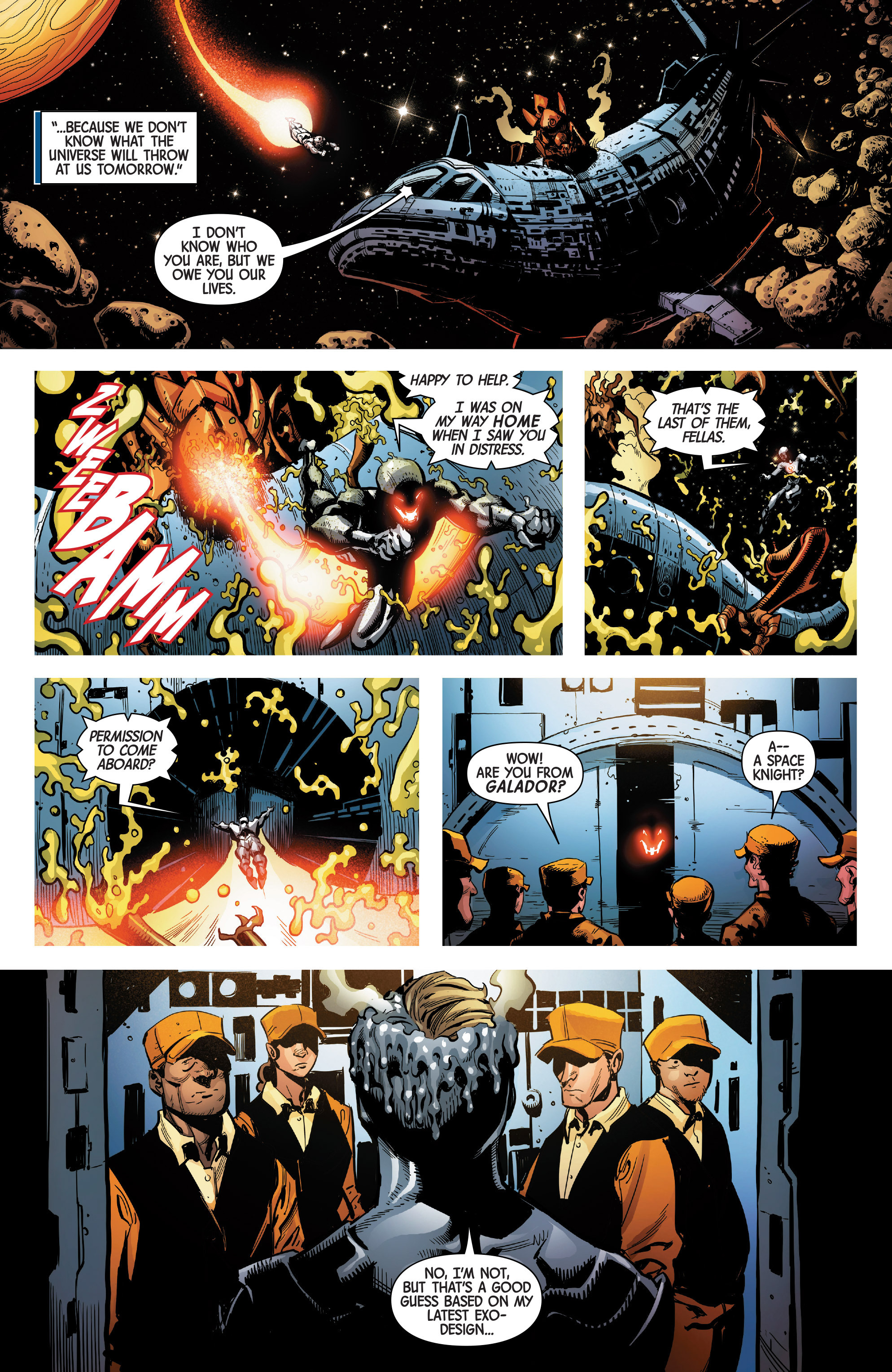 Read online Uncanny Avengers [II] comic -  Issue #4 - 21