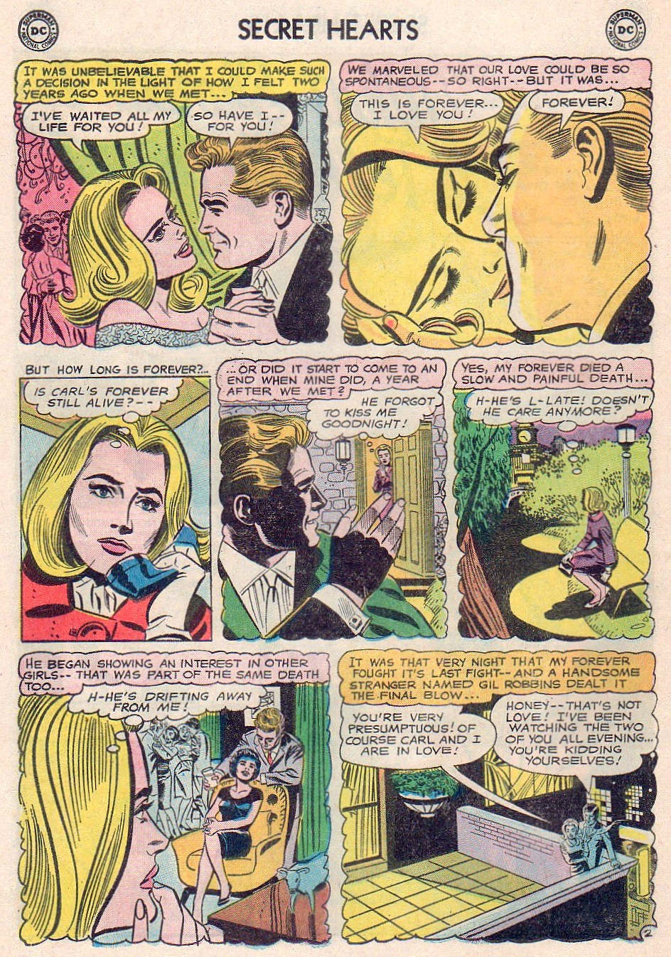 Read online Secret Hearts comic -  Issue #102 - 12