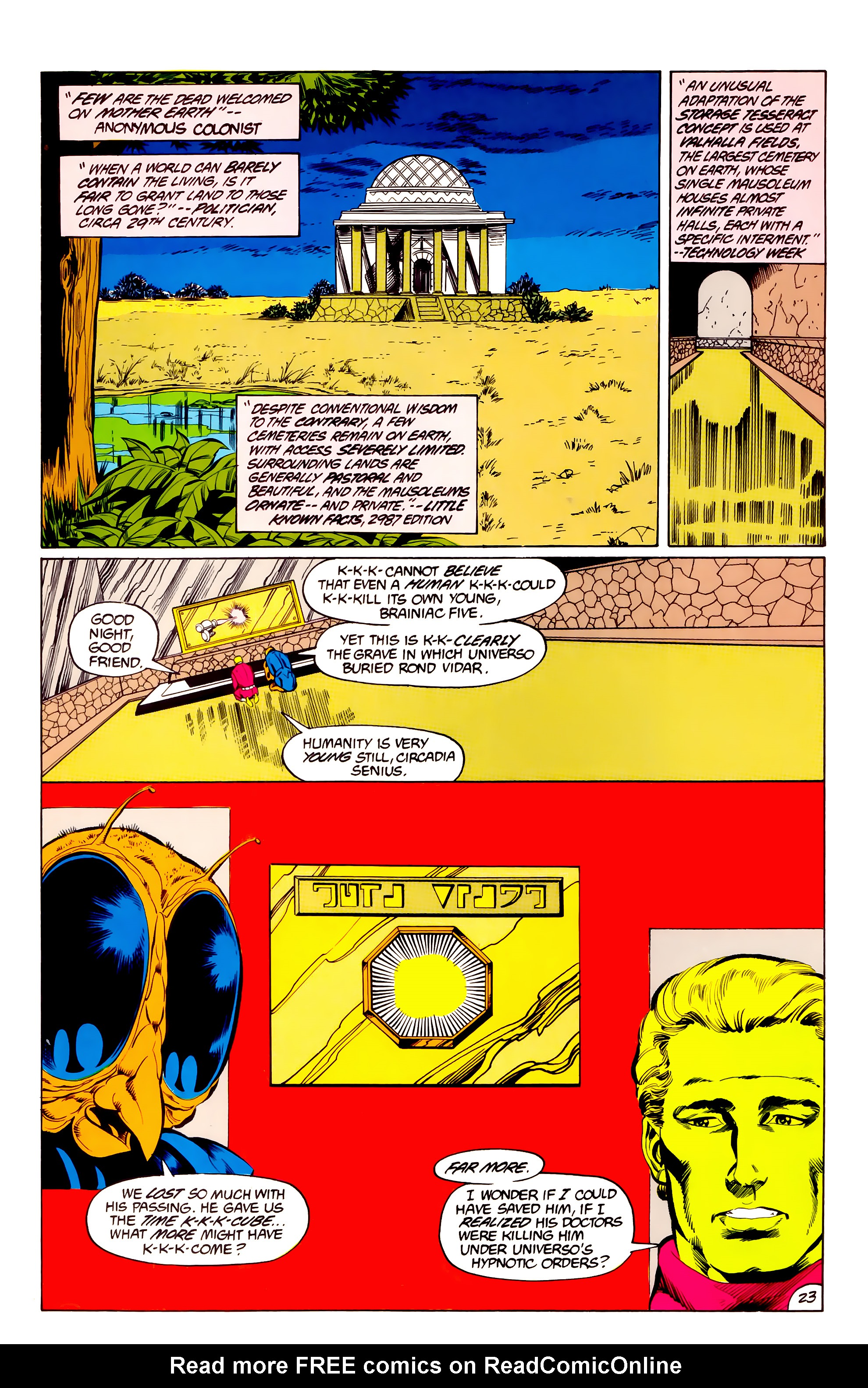 Legion of Super-Heroes (1984) 36 Page 23