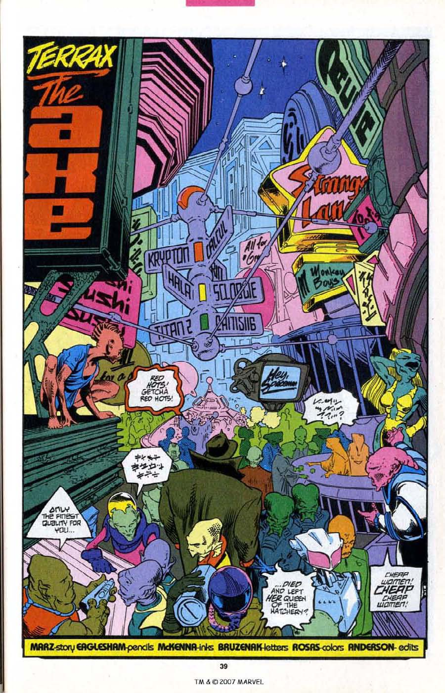 Silver Surfer (1987) _Annual 6 #6 - English 41